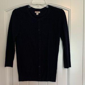 Merona Navy Cardigan size xs